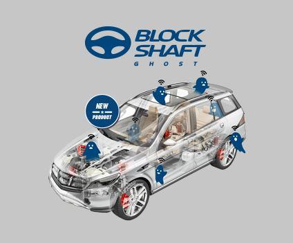 logo block shaft gost auto con fantasmini