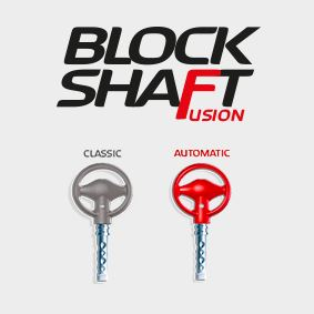 logo block shaft fusion